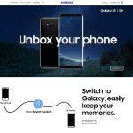 แนะนำเว็บ Samsung